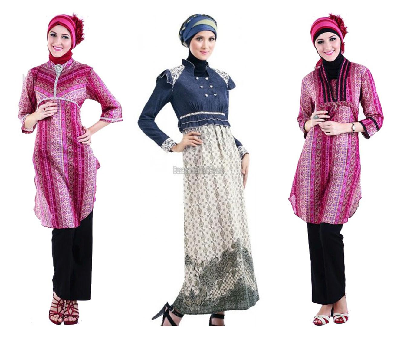Model Busana Muslim Terbaru Baju Gamis Baju Kantor Baju Pesta
