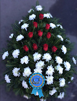 Coroana funerara Crizantema