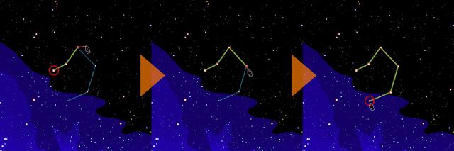 てんびん座星座線の描き方