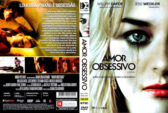 Capa DVD Amor Obsessivo
