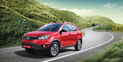 New 2017 SsangYong Korando C HD Pictures