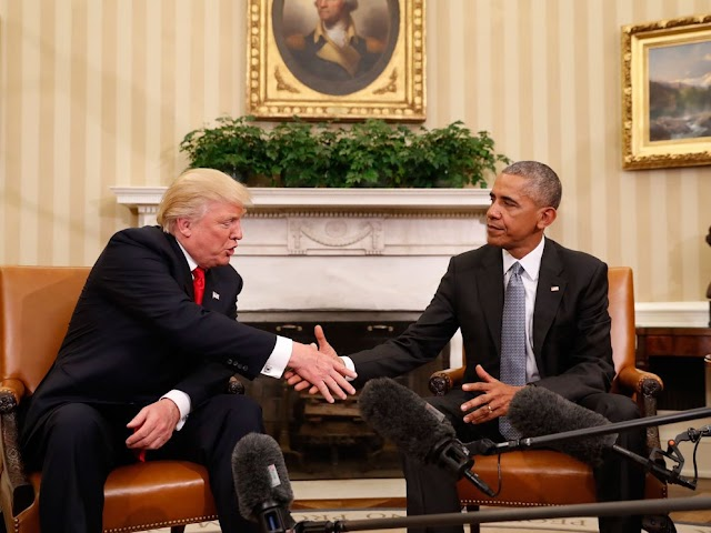 הנשיא הנבחר דונלד טראמפ מתחיל את שלבי החניכה