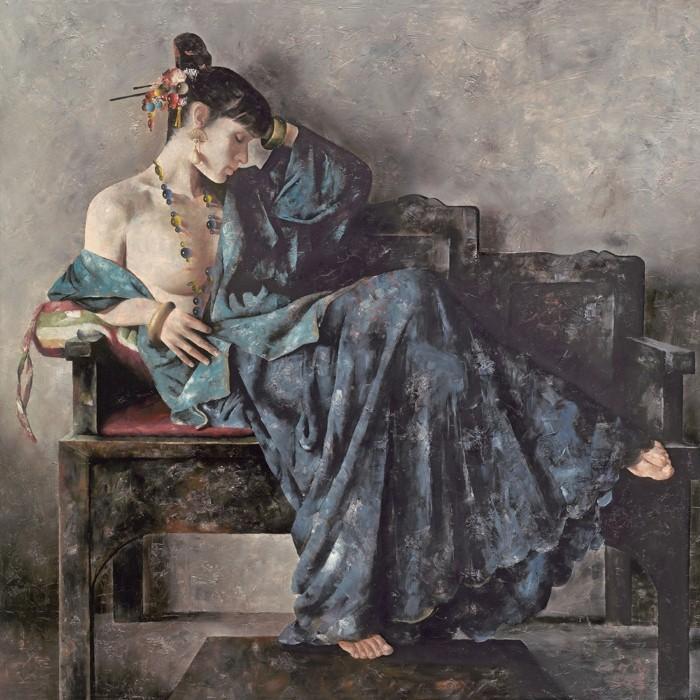 Академическая живопись. Lu JianJun 17