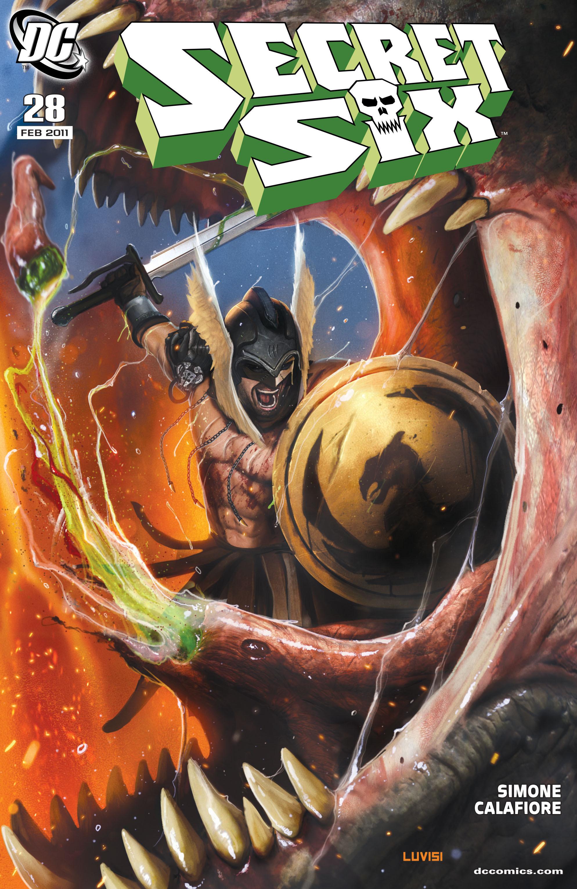 Read online Secret Six (2008) comic -  Issue #28 - 1