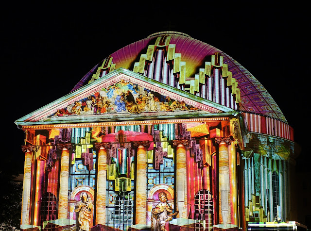 Festival of Lights 2017 St. Hedwigs-Kathedrale Berlin