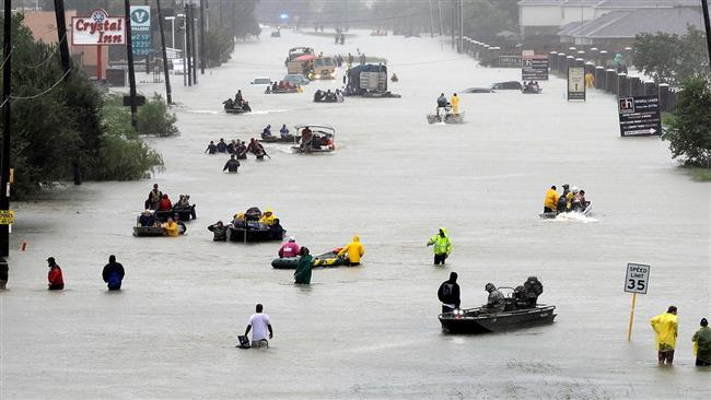 Harvey floods second-most costly disaster in US history