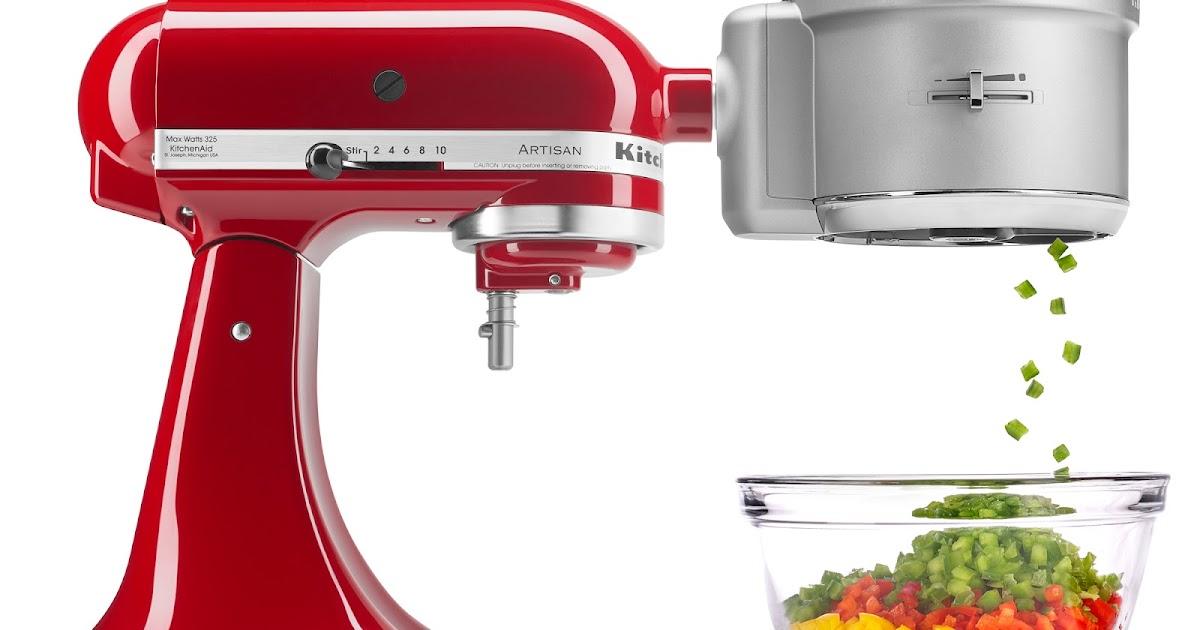 Kitchenaid Ksm2fpa Food Processor Attachment With