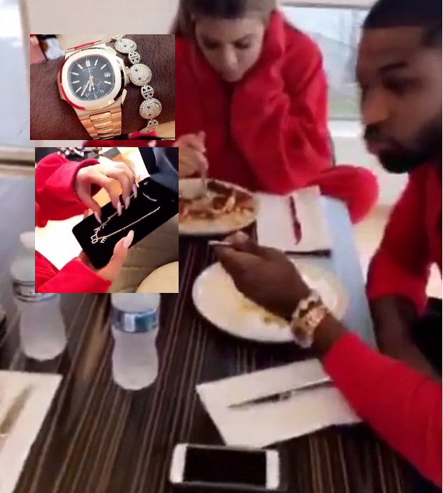 Video Khloe Kardashian Gifts Boyfriend Tristan Thompson Expensive