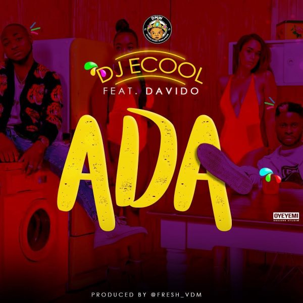 Instrumental: Dj Ecool -Ada (Remake) ft Davido