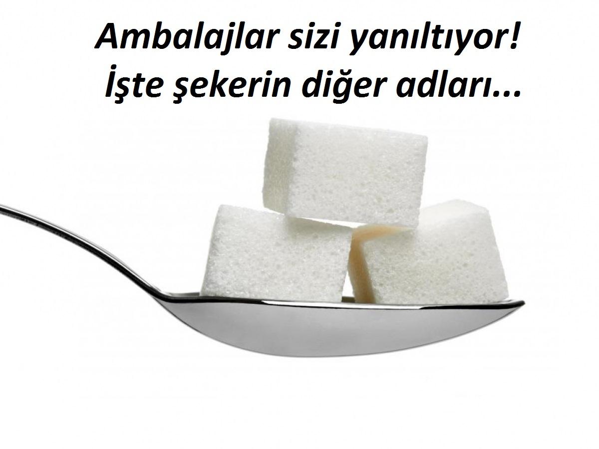 İşlenmiş şekeri çok tüketirseniz