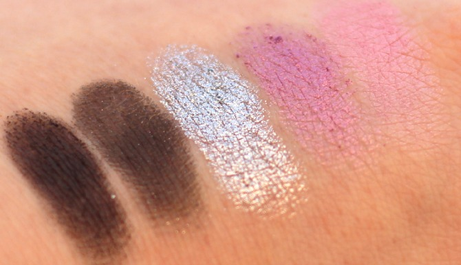 The top row of the UD Vice 2 palette swatched