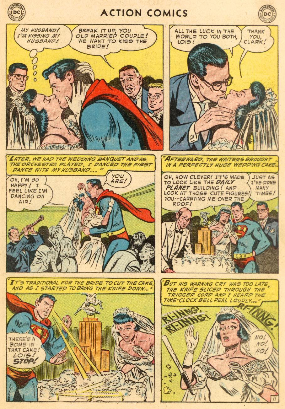 Read online Action Comics (1938) comic -  Issue #206 - 13