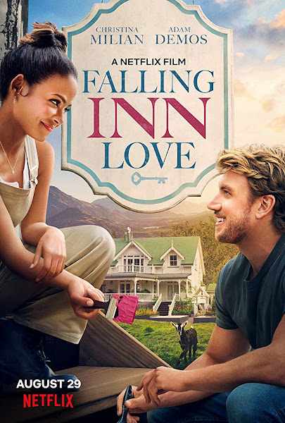 Poster of Falling Inn Love (2019) Dual Audio [Hindi-DD5.1] 720p HDRip ESubs Download
