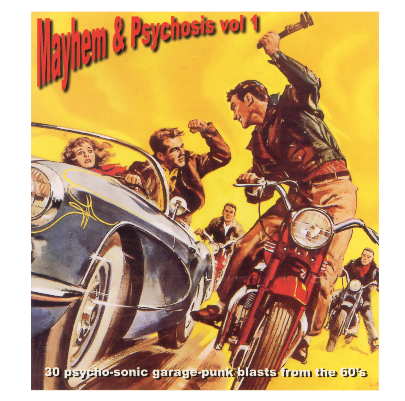 Power Pop Lovers Mayhem Amp Psychosis Volume 1