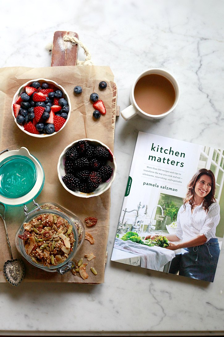 This grain-free superseed granola recipe from the Kitchen Matters cookbook is a healthful breakfast.