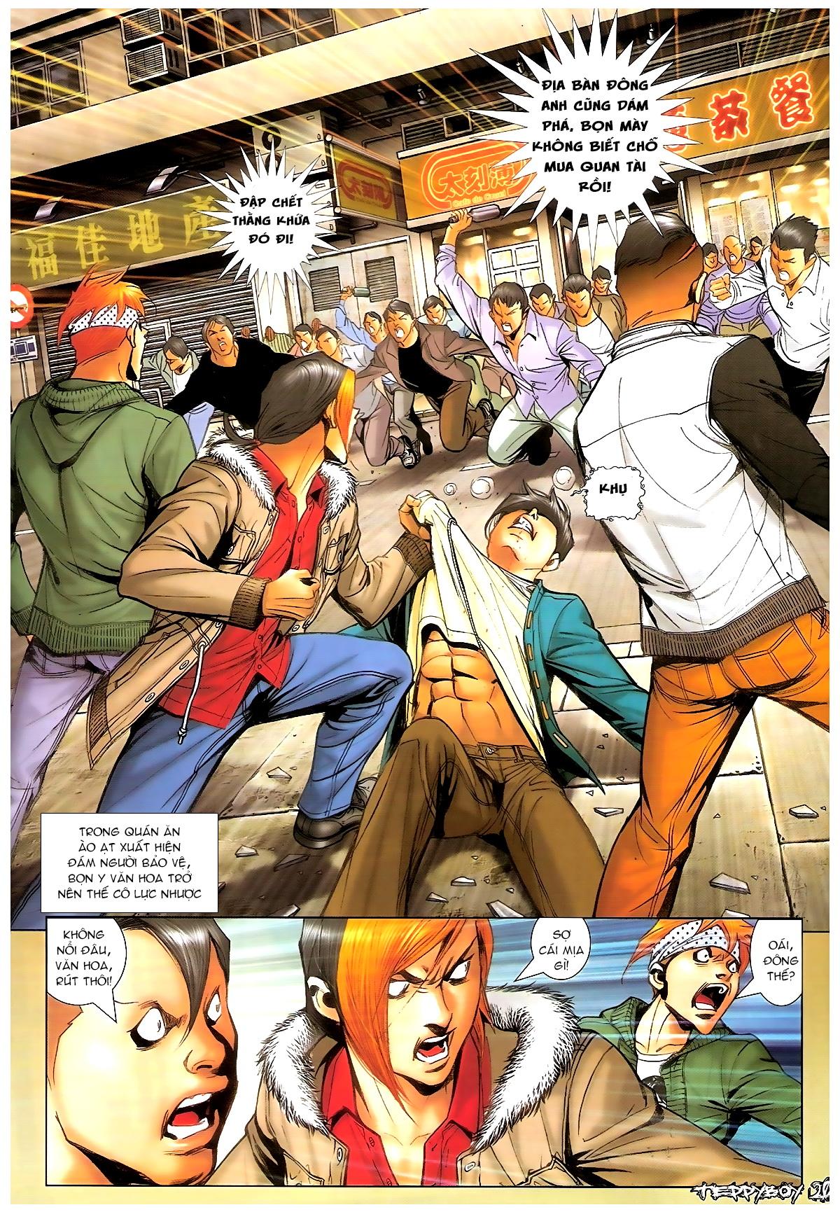 Người Trong Giang Hồ - Chapter 1369: Mê trai gặp Sở Khanh - Pic 17