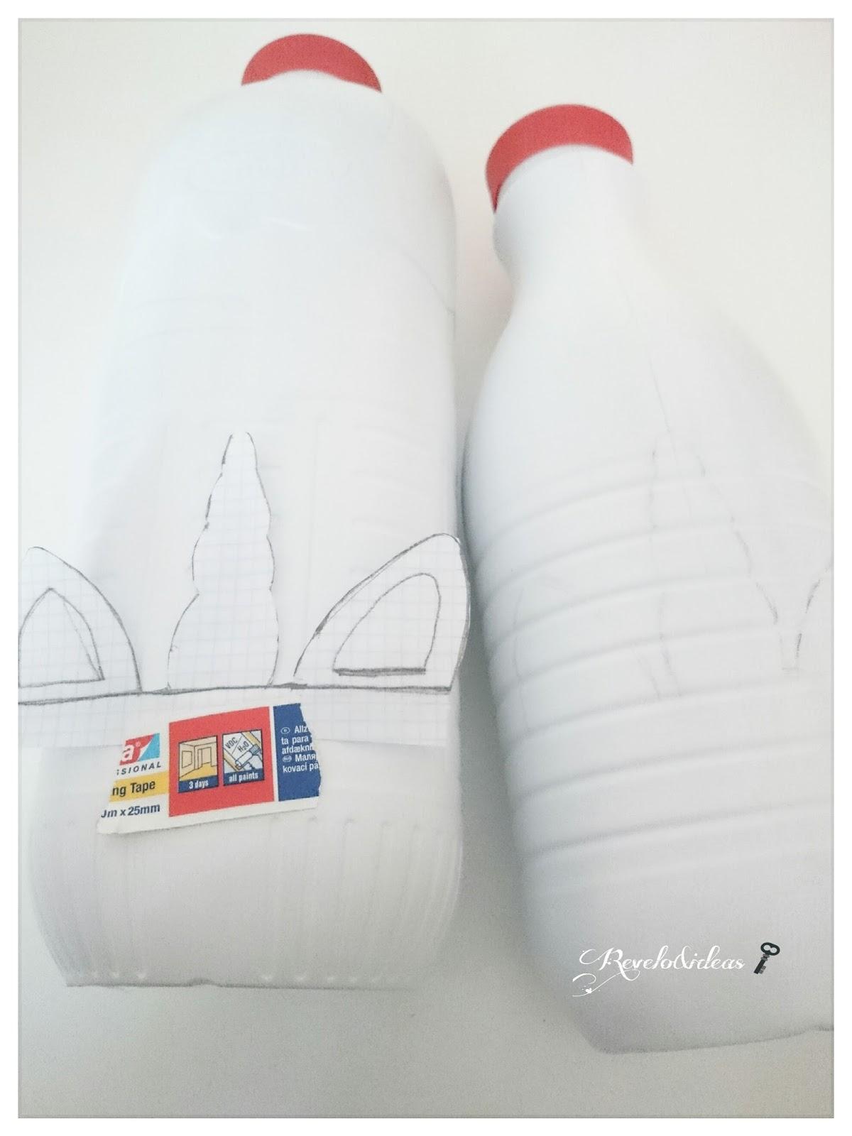 revelo amp ideas low cost macetero diy reciclando botellas