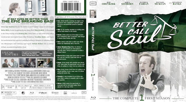 Better Call Saul Season 1 Bluray Cover