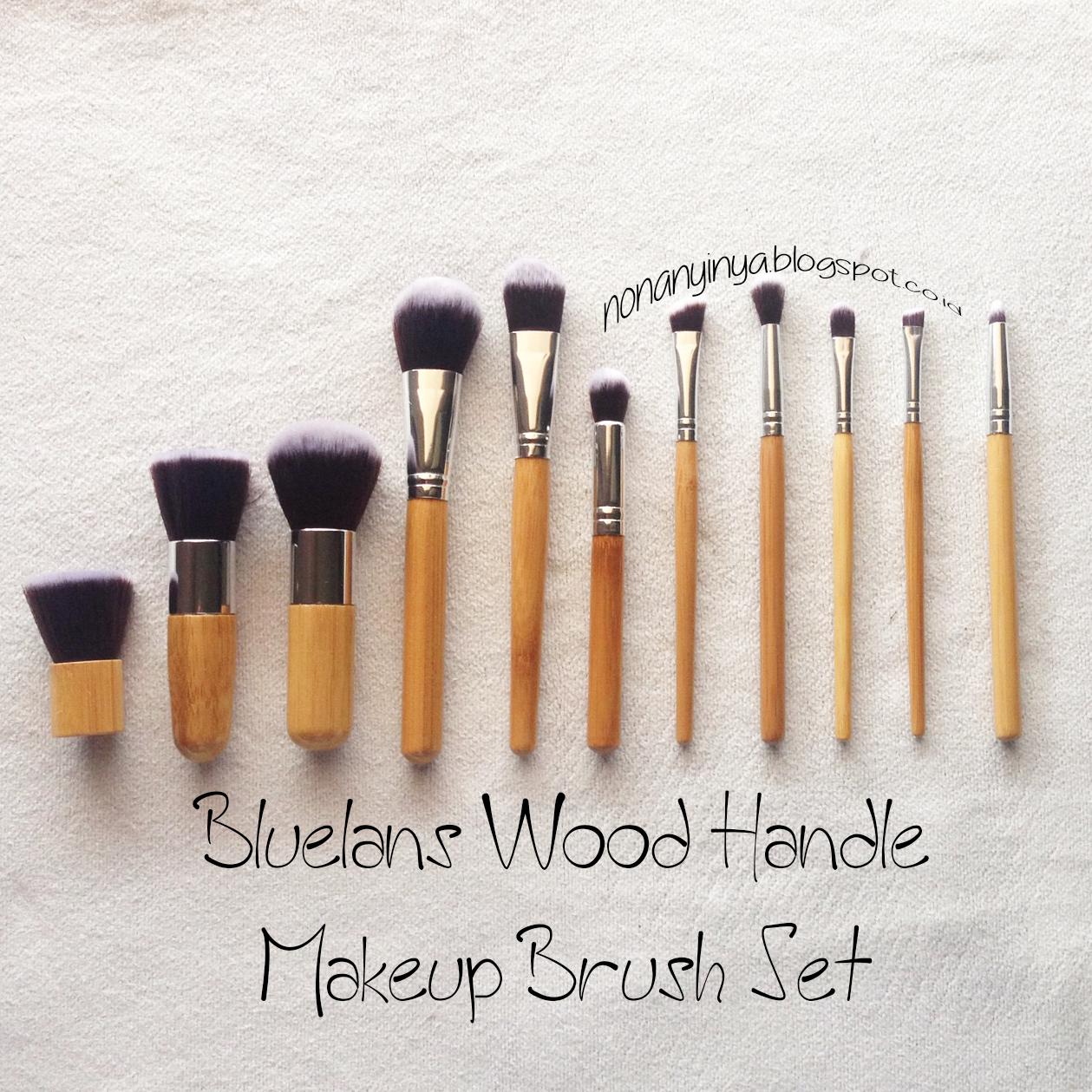 Nyonya Nyinyas Room Review Bluelans Wood Handle Makeup Brush Kuas Lembut Make Up Set 11 Pcs