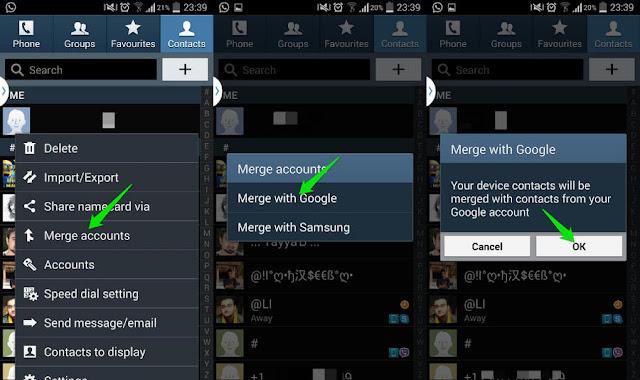 Cara Mudah Memindahkan Kontak Dari Android ke Android