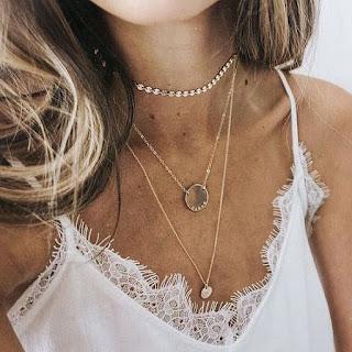 collier pendentif tendance 2018