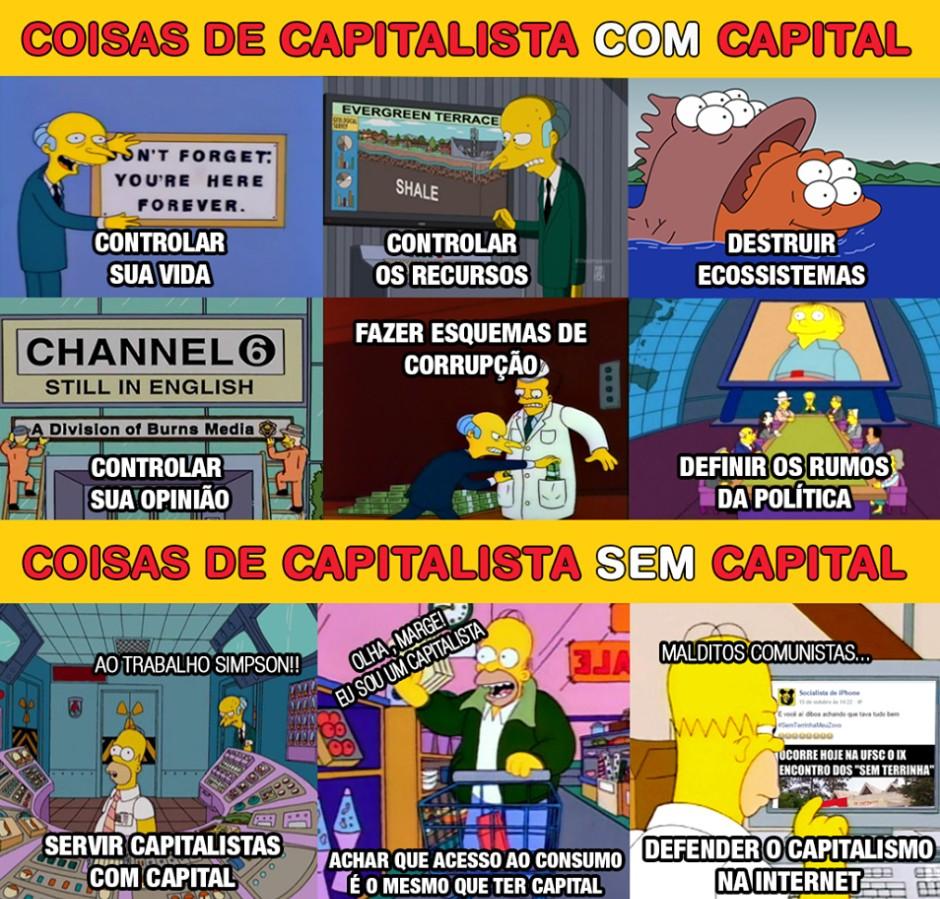 Resultado de imagem para aversão ao capitalismo no brasil