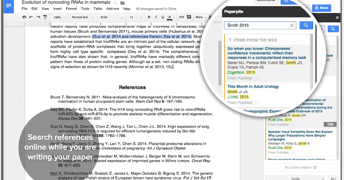 Here Is A Great Google Doc Tool for Research Students ...