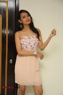 Actress Sagarika Pictures in Short Dress at Friend Request Press Meet 0365