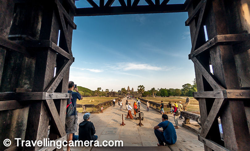 # Starting the day as early as possible can help you a lot at Angkor Heritage site. As sun goes up, you get more exhausted.