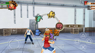 Download One Piece Romance Dawn ISO CSO PSP Android High Compress