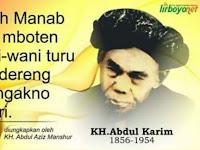 Mbah Abdul Karim Lirboyo Pasrah Bongkokan Pada Ajaran Mbah Kholil Bangkalan