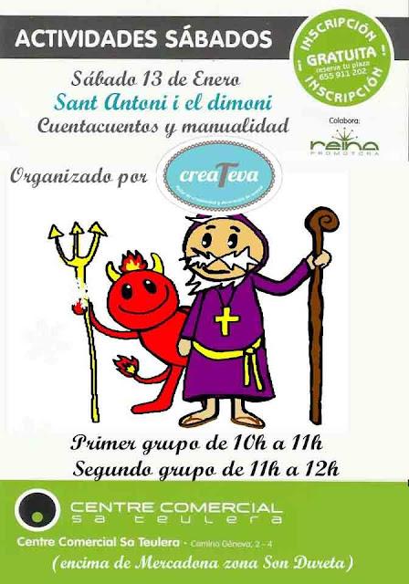 cartel Createva Sant Antoni