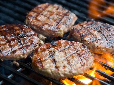 Cara mudah buat daging burger sendiri.