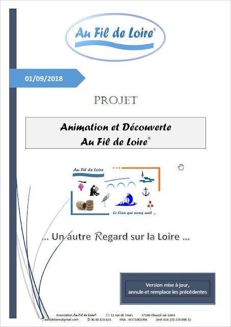 Participez au Projet Animation et découverte au Fil de Loire