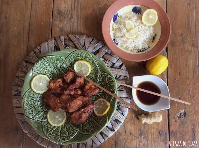 pollo-chino-frito-al-limón-con-arroz-basmati