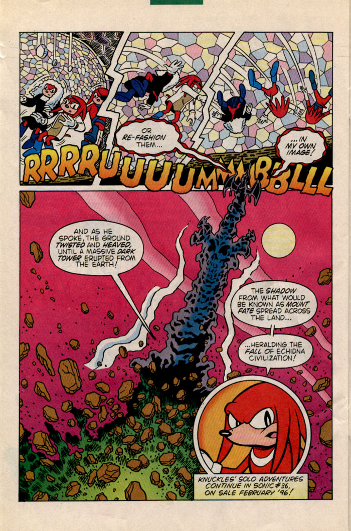 Read online Sonic The Hedgehog comic -  Issue #35 - 26