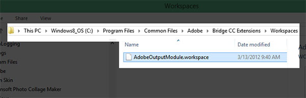 Are You Missing Output Module in Adobe Bridge CC? Download
