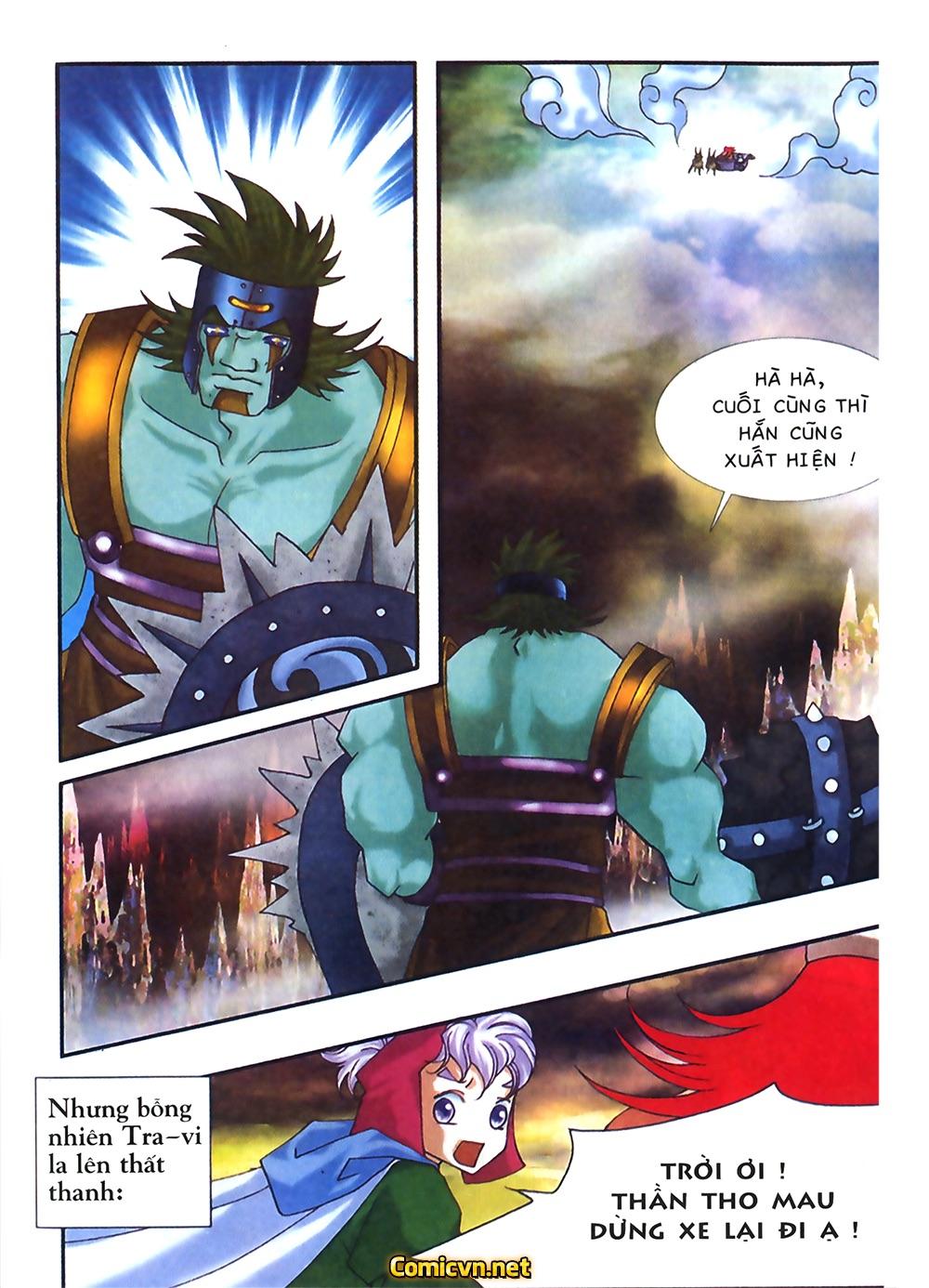 Thần thoại Bắc Âu - Chapter 31: Trận chiến không cân sức - Pic 24
