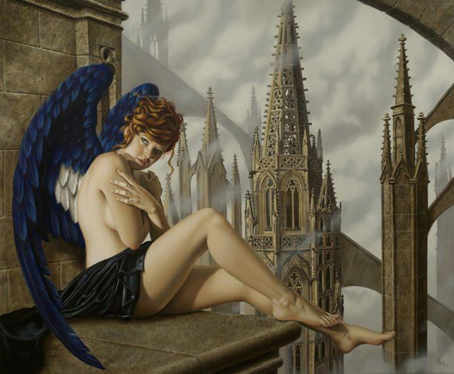 Juan Medina 1950   Mexican Surreal Hyperrealist painter   Trompe l'oeil style