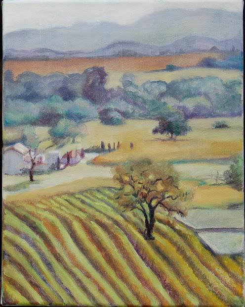 Fine Art Margret Lindsey Landscape Paintings