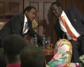 Raila, Kalonzo and Wetangula.