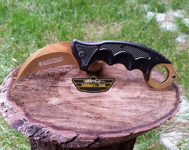 Karambit Smith & Wesson Glod