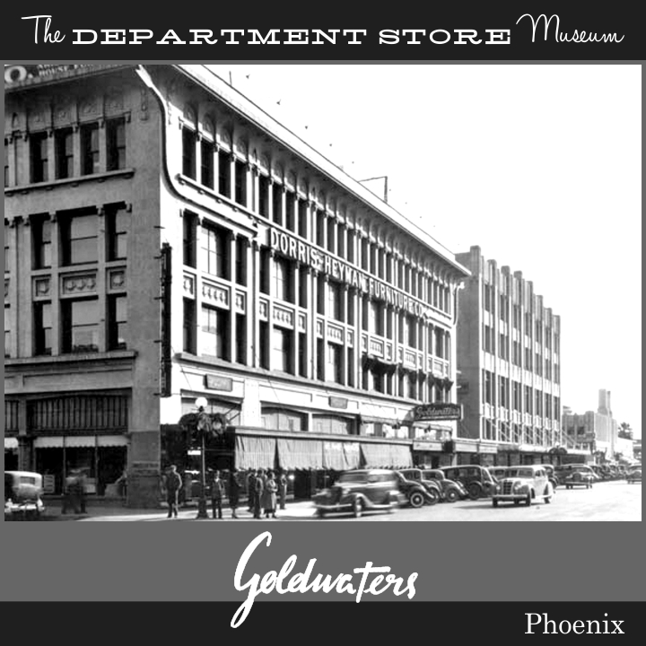The Department Store Museum M Goldwater Sons Phoenix Arizona