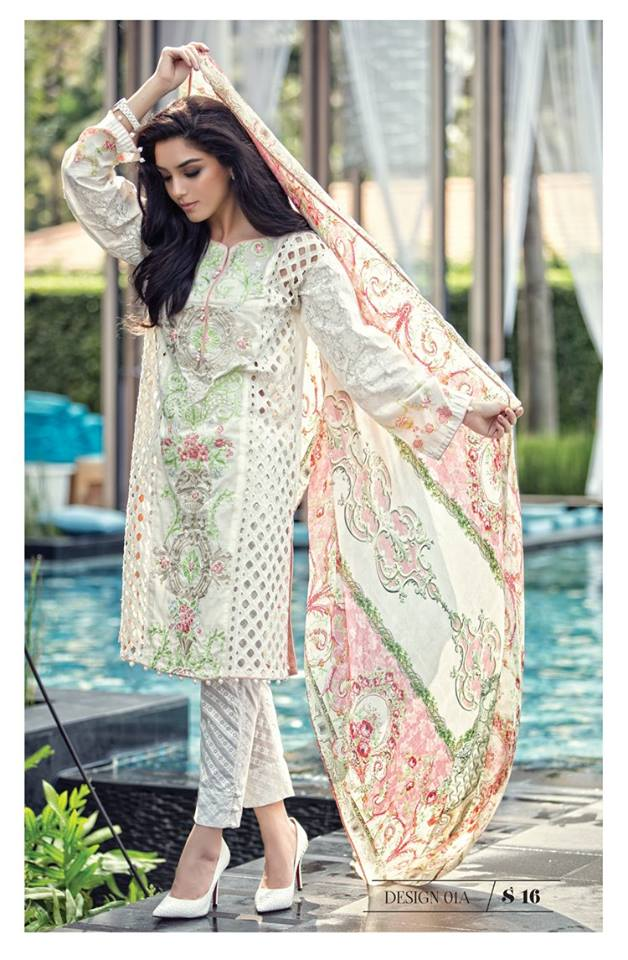 Maria B Latest Lawn Collection 2016 For Ladies Prices Buy ...