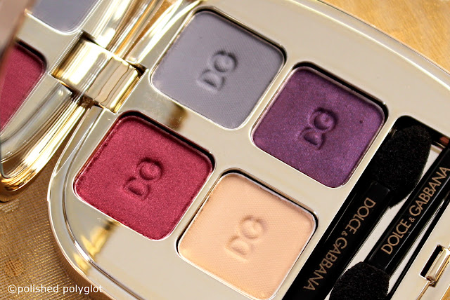 Dolce & Gabbana Fall Harvest eyeshadow quad