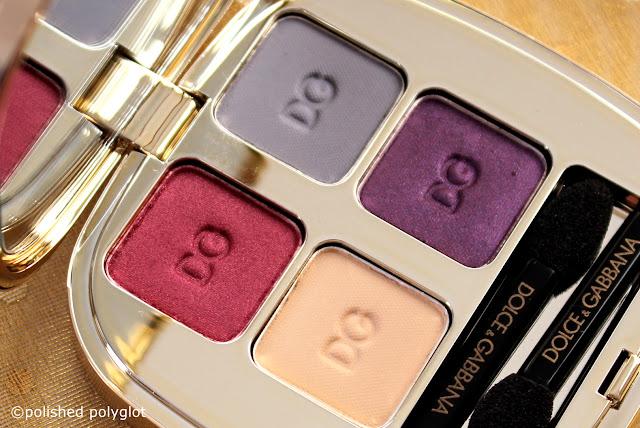 Dolce & Gabbana Fall Harvest eyeshadow quad