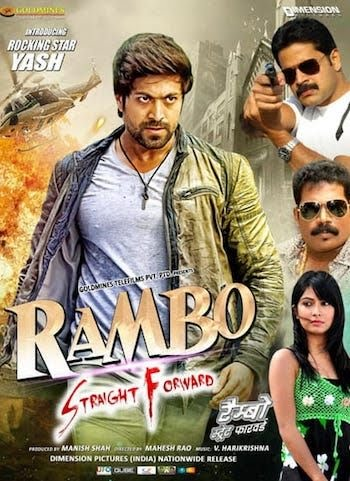 Rambo Straight Forward 2018 South Movie Hindi Dubbed In 480p 720p