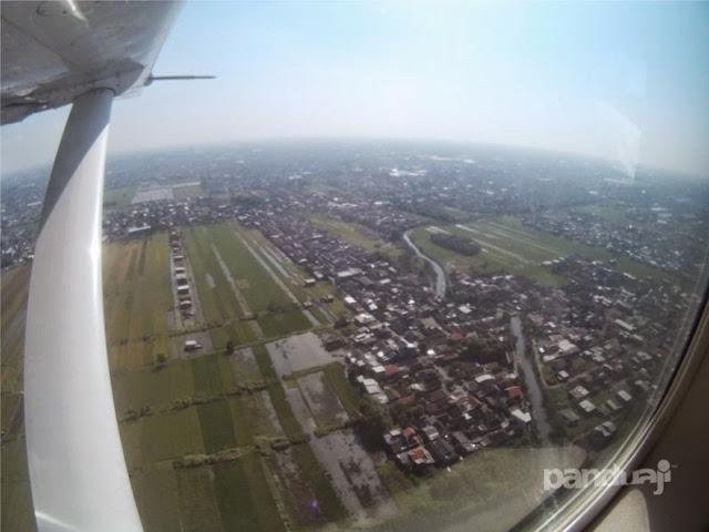 Pemandangan kota dari Udara