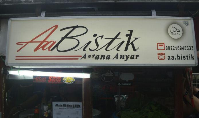 Nasi Bistik Astana Anyar