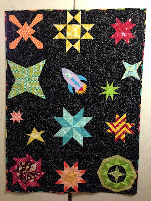 Life sew crafty space baby quilt for Space baby fabric